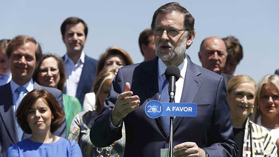 """Rajoy:  """"Estamos a mitad de la tarea, pero vamos en la dirección correcta'"""
