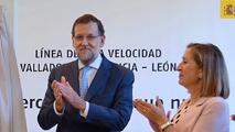 Ir al VideoRajoy inaugura el AVE a León