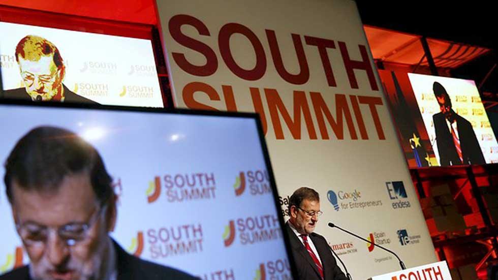 Rajoy inaugura la tercera edición del South Summit