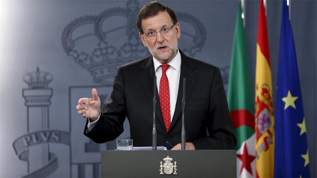 """Rajoy, a los independentistas: """"El Gobierno está preparado"""""""
