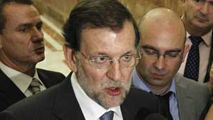 Mariano Rajoy insiste en que las medidas son imprescindibles para salir de la crisis