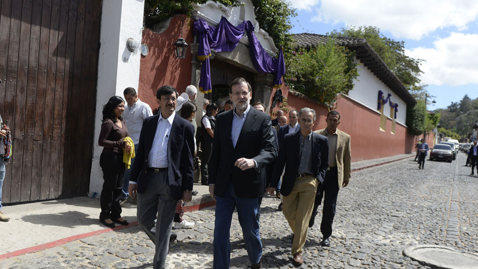 Rajoy llega a Guatemala para participar en la cumbre de países centroafricanos