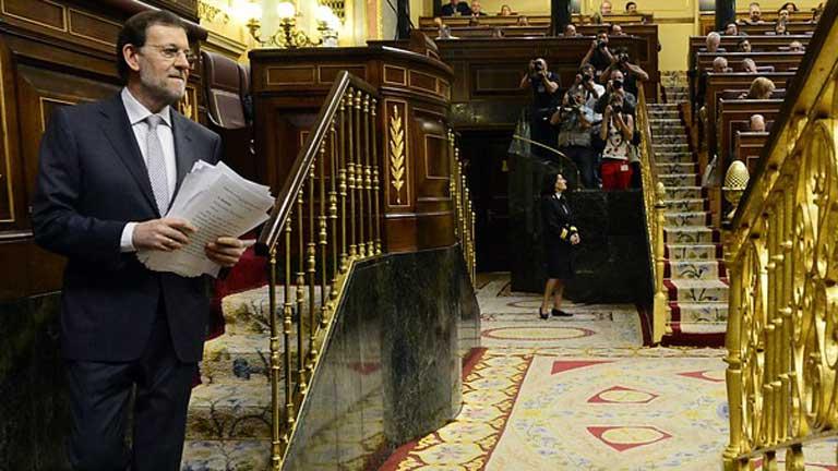 """Rajoy reconoce que los recortes suponen un gran sacrificio, pero señala que """"no queda más remedio"""""""