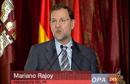 Rajoy pide la disolución de los ayuntamientos donde gobierna ANV