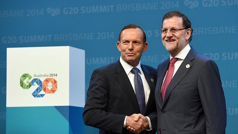 Rajoy pide al G20 actuar para consolidar la economía mundial y la de la UE