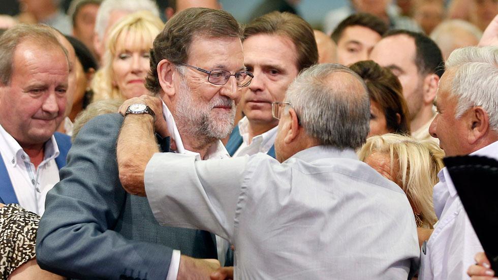 """Rajoy pide el voto para el PP: """"Hay 25 provincias donde el voto a Ciudadanos no sirve para nada"""""""
