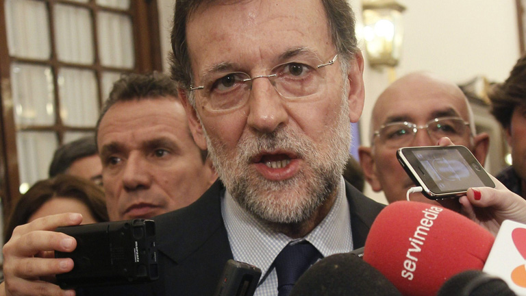 """Rajoy: los presupuestos son """"difíciles, duros y no gustan"""", pero llevarán a la recuperación"""