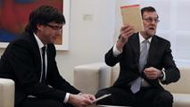Ir al VideoRajoy y Puigdemont se reunieron en La Moncloa el pasado 11 de enero