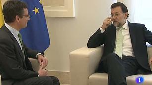 El presidente del Gobierno ha recibido hoy al presidente del PP vasco, Antonio Basgoiti