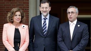 Rajoy recibe a los embajadores de Madrid 2020
