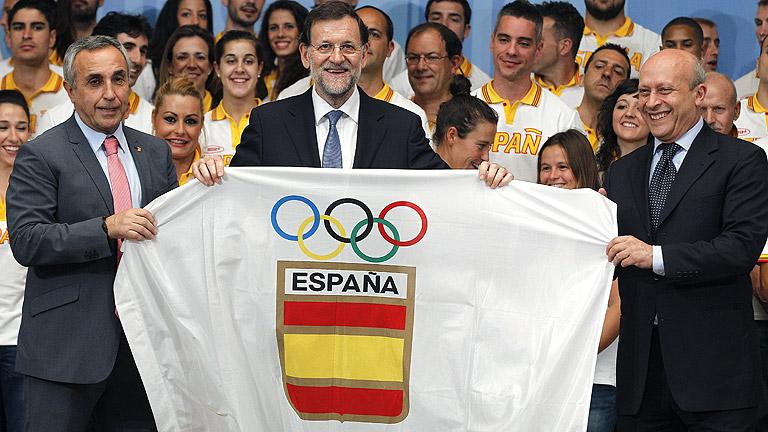 Rajoy recibe en La Moncloa al equipo olímpico español