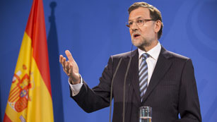 """Rajoy reitera la falsedad de los papeles de Bárcenas salvo """"alguna cosa"""""""
