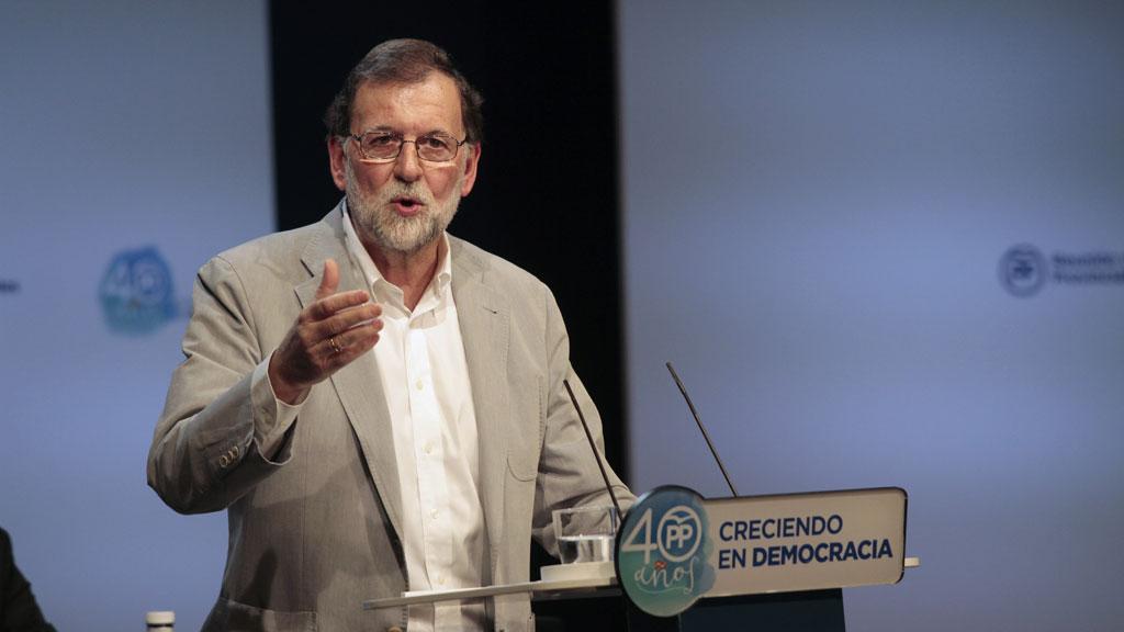 Rajoy reitera que el referéndum del 1 de octubre no se va a celebrar