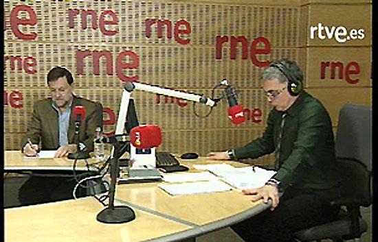 Entrevista íntegra a Mariano Rajoy en RNE, en la que, entre otras cuestiones, culpa al Gobierno del aumento del paro