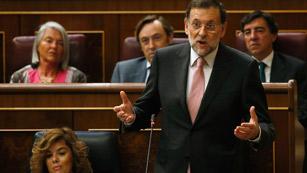 Rifi rafe de Rajoy y Rubalcaba por el posible rescate a España