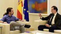 Ir al VideoRajoy se reúne con Rivera e Iglesias en la Moncloa para abordar la deriva soberanista