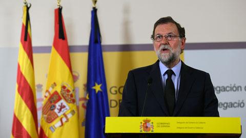 """Rajoy, sobre el atentado de Barcelona: """"Estamos unidos en el dolor y en acabar con esta barbarie"""""""