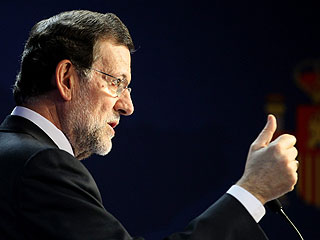 """Rajoy: """"He considerado la opción de que me hagan una huelga general"""""""