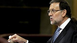 Rajoy visita Cataluña por primera vez tras el 9N arropado por la cúpula del PP
