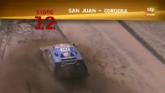 Rally Dakar 2011 - 12ª etapa: San Juan-Córdoba - 12/01/11