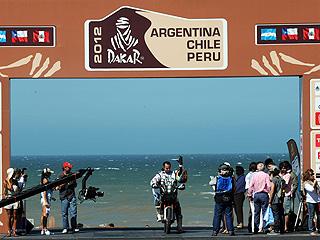 'Rally Dakar' - Etapa 1 (Mar del Plata - Santa Rosa de la Pampa) - 01/01/12