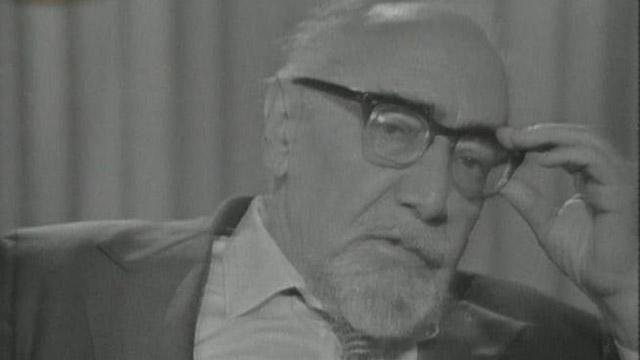 Ramón J. Sender se emociona en 'A fondo' (1976)