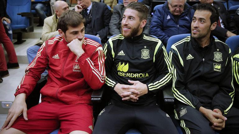 Ramos matiza sus palabras sobre el compromiso de Cesc y Costa con la Roja