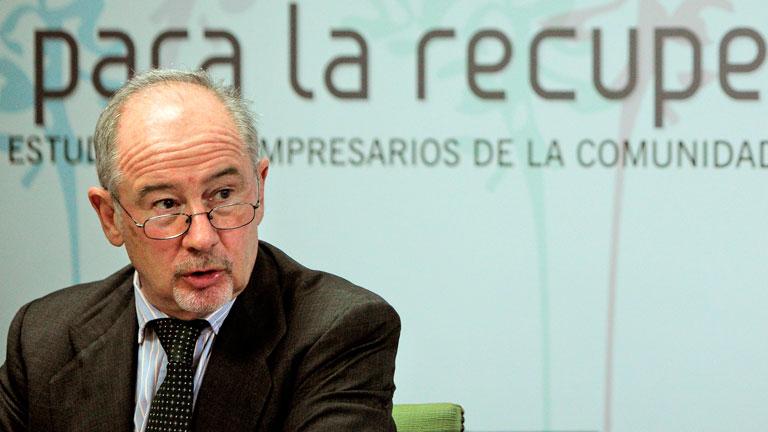 Rodrigo Rato critica el plan de Bankia