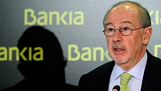 Rato defiende la solvencia de Bankia tras anunciar su dimisión