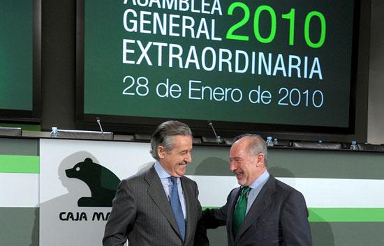 Rodrigo Rato ya es presidente de Caja Madrid