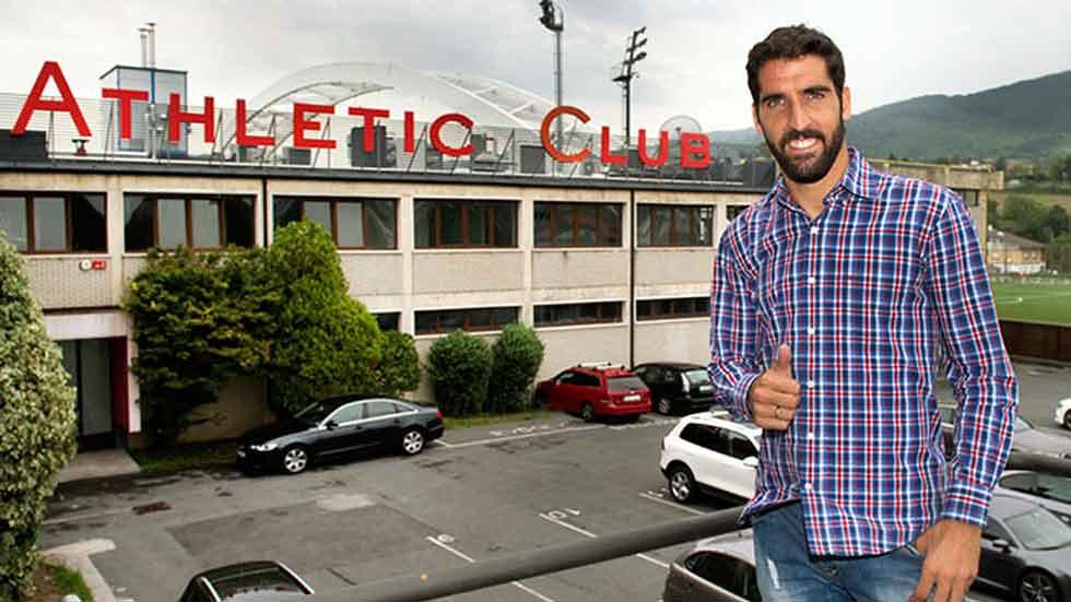 Raúl García es nuevo jugador del Athletic