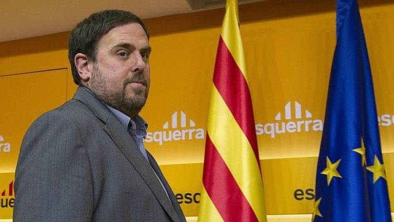 Reacciones en Cataluña a la sugerencia de ERC de desobedecer al Constitucional