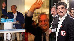 Ver vídeo  'Reacciones a los resultados electorales de Andalucía'