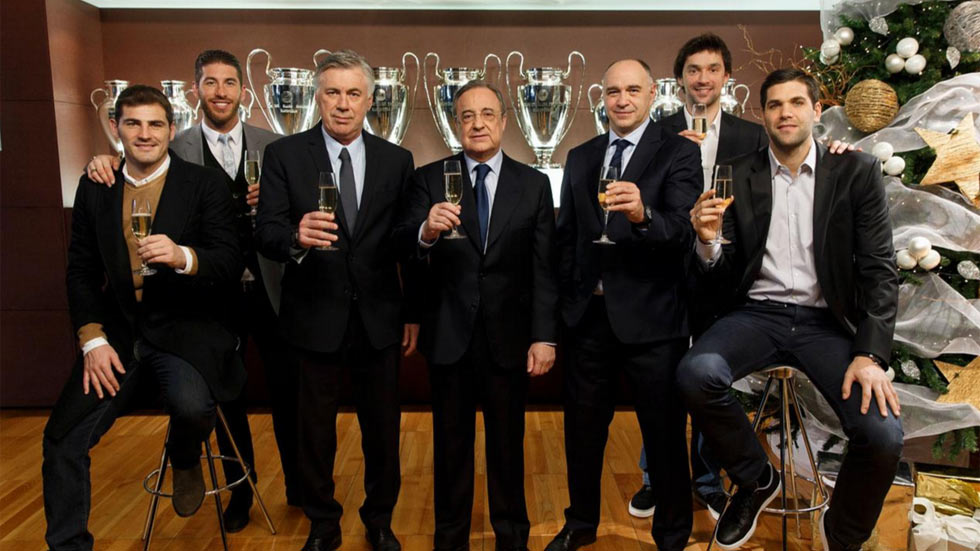 El Real Madrid felicita la Navidad