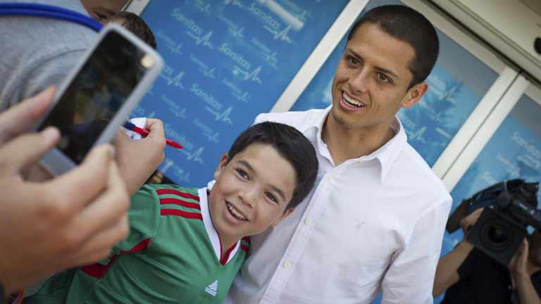 El Real Madrid ficha a 'Chicharito'