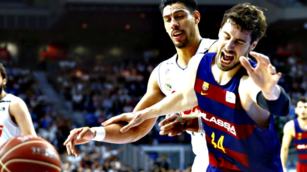 El Real Madrid gana 91-74 al Barcelona y se adelanta 2-1 en la final