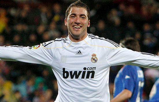 El Real Madrid golea al Getafe