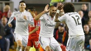 El Real Madrid quiere deslumbrar en Champions ganando al Liverpool