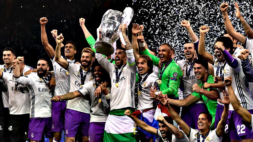 El Real Madrid revalida el título y logra su duodécima Copa de Europa