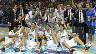 El Real Madrid, supercampeón de baloncesto