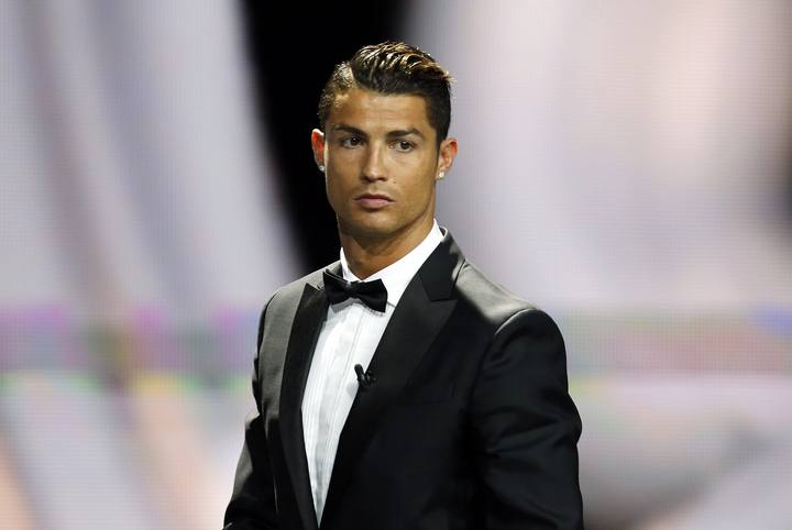 Real Madrid's Cristiano Ronaldo is seen before receiving his Best Player UEFA 2014 Award during the draw ceremony for the 2014/2015 Champions League soccer competition in Monaco