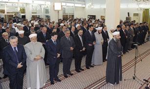 El presidente sirio, Bashar al Asad, reaparece con motivo del fin del Ramadán