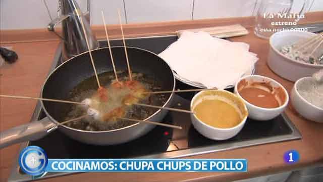 Más Gente - cocina - Chupa Chups de pollo, una receta apta para celíacos