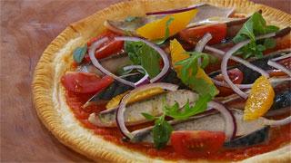 Torres en la cocina - Receta de tosta de caballa marinada