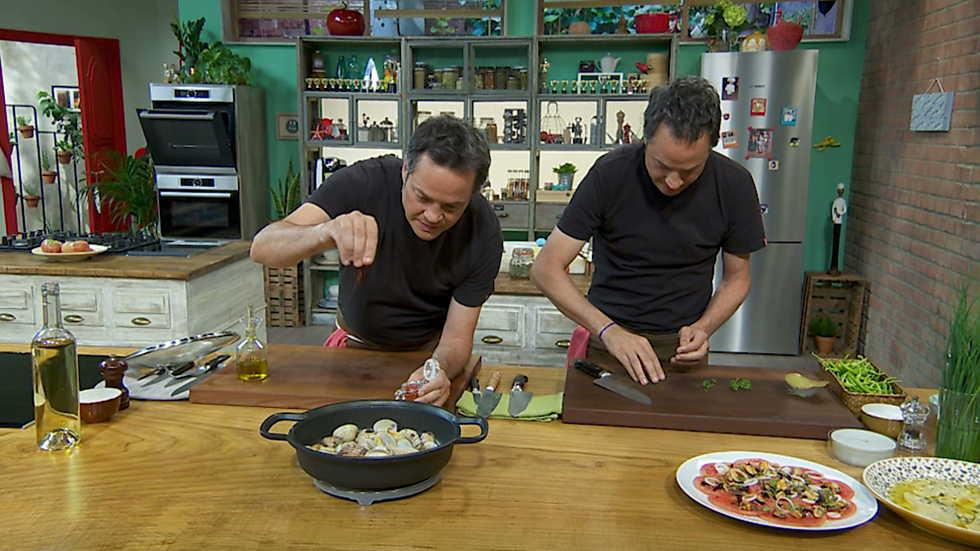 Torres en la cocina - Recetas con moluscos