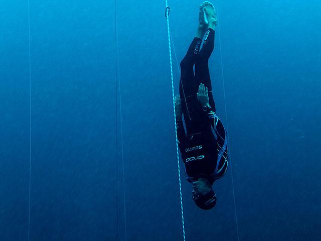 Récord del mundo de inmersión libre