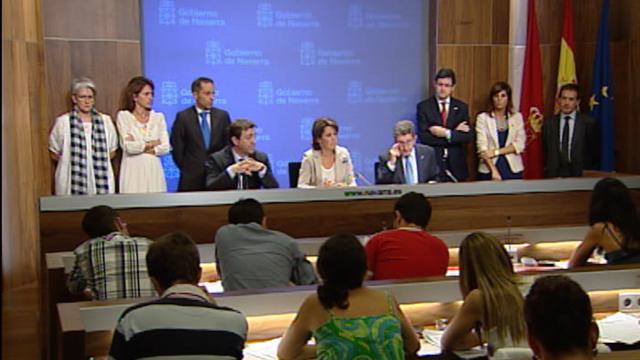 El Gobierno foral de Navarra anuncia un recorte para ahorrar 190 millones