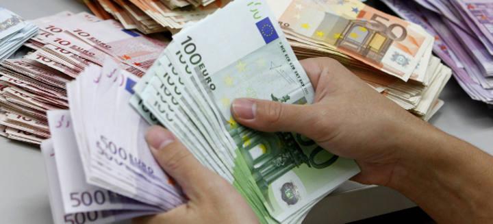 Recuento de billetes de euro