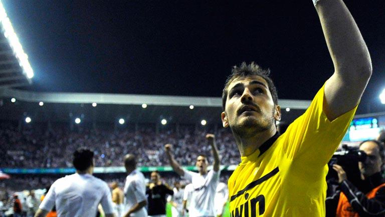 Recuerdos de Iker Casillas en San Mamés
