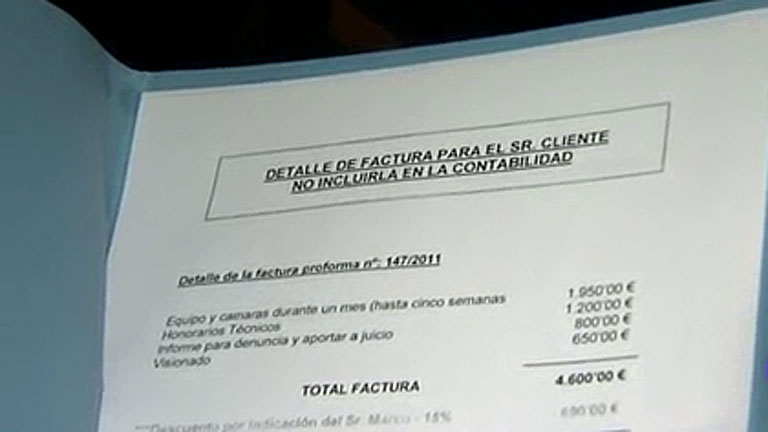 El restaurante de las supuestas escuchas contrató a la agencia Método 3 para controlar a un trabajador